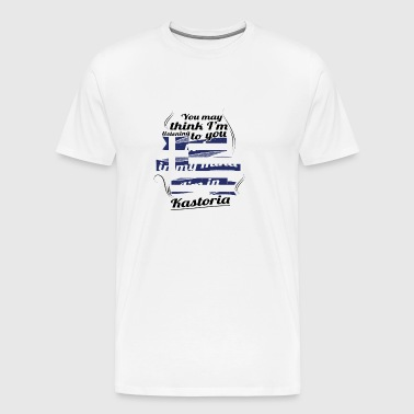 GREECE GREECE TRAVEL IN IN Greece Kastoria - Men's Premium T-Shirt