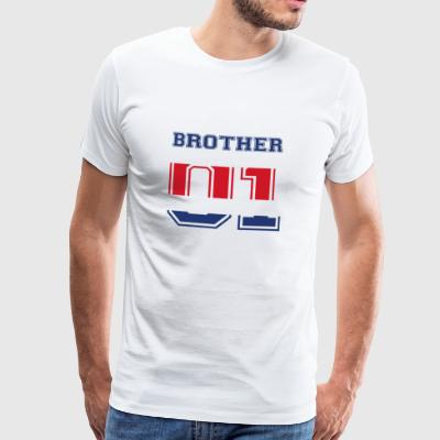 frère frère 01 roi Costa Rica - T-shirt Premium Homme
