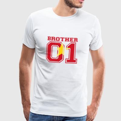 Brother 01 kung Vietnam - Premium-T-shirt herr