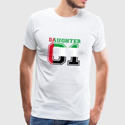 Daughter daughter queen 01 United Arab Emi - Men's Premium T-Shirt