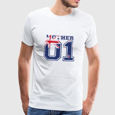 MOTHER MAMA 01 MOTHER QUEEN New Zealand - Men's Premium T-Shirt