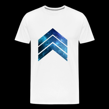 Blue Galaxy 2 - Mannen Premium T-shirt