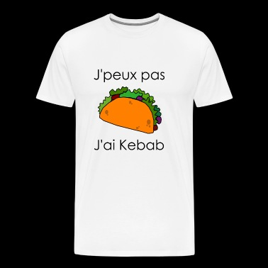 I can not I have kebab - Men's Premium T-Shirt