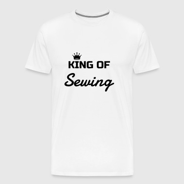 Sewing Sewer Couture Fashion Nähen Schneider Mugs & Drinkware - Men's Premium T-Shirt