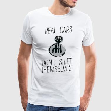 A real car - acceleration - funny spell - Men's Premium T-Shirt