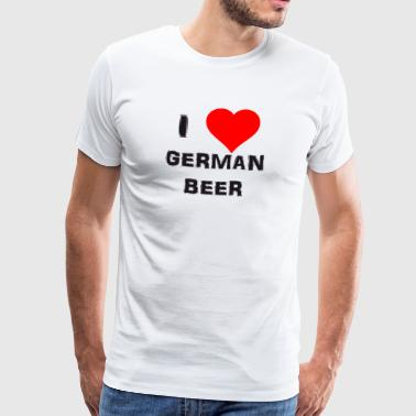 german beer - Männer Premium T-Shirt
