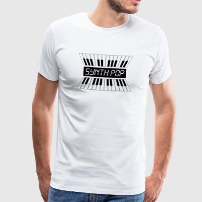 SYNTH-POP MUSIC (2) - Premium-T-shirt herr