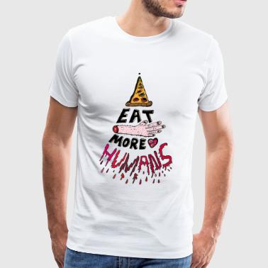 Eat more Humans - Men's Premium T-Shirt