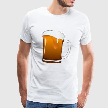 Pitcher - Premium-T-shirt herr