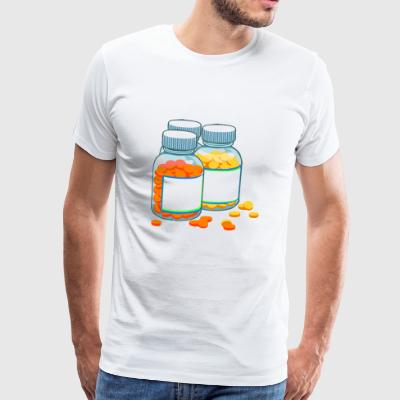 drugs - Mannen Premium T-shirt