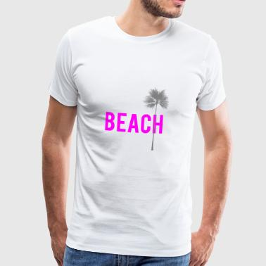beach - Men's Premium T-Shirt