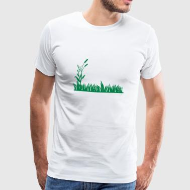 grass - Men's Premium T-Shirt