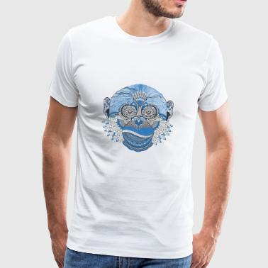Stylish monkey - Men's Premium T-Shirt