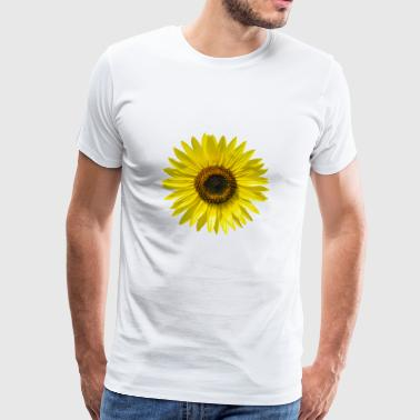 Sunflower summer sunbeams happy hygge - Men's Premium T-Shirt