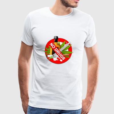 No Drugs - Männer Premium T-Shirt