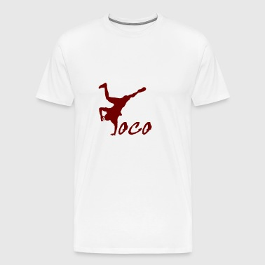 Breakdancer loco - Men's Premium T-Shirt
