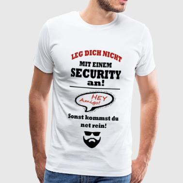 KRASSER SECURITY Typ - Männer Premium T-Shirt