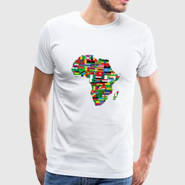 AFRICA AFRICA CONTINENT GIFTS - Men's Premium T-Shirt