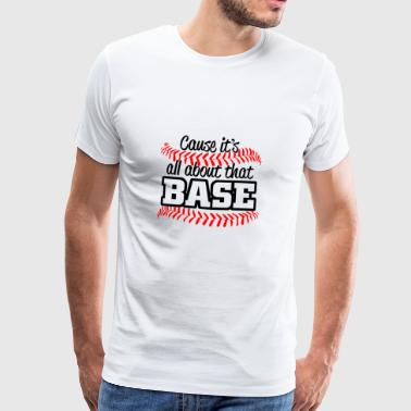baseball - Premium T-skjorte for menn
