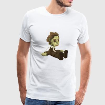 Wind-Up Doll - Premium-T-shirt herr
