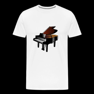 Grand Piano - Herre premium T-shirt