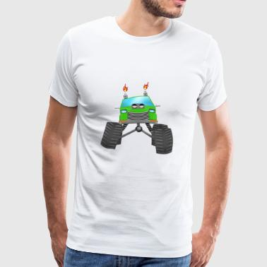 Monstertruck - Männer Premium T-Shirt