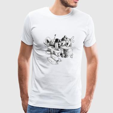 US-Brief - Männer Premium T-Shirt