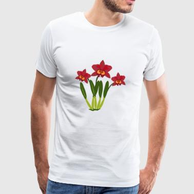 orchid - Men's Premium T-Shirt