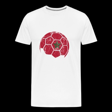 Maroc Football Ballon de football - T-shirt Premium Homme