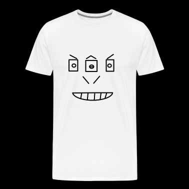 smiley third eye - Men's Premium T-Shirt