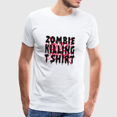 ZOMBIE HALLOWEEN PARTY EVENT SHIRT GESCHENK UNTOTE - Männer Premium T-Shirt
