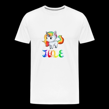 Jule unicorn - Men's Premium T-Shirt
