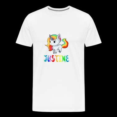 Justine unicorn - Men's Premium T-Shirt