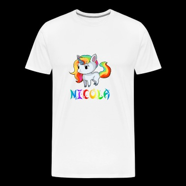 Unicorn Nicola - Men's Premium T-Shirt