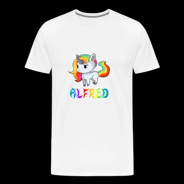 Unicorn Alfred - Men's Premium T-Shirt