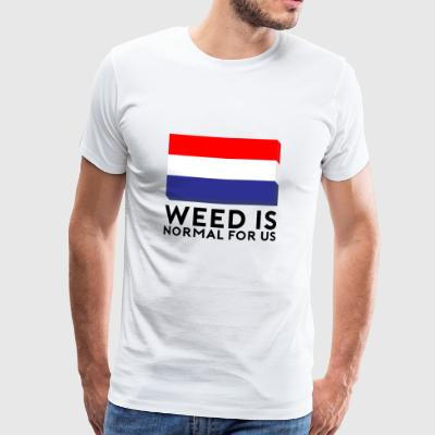 Weed is normal for us - Men's Premium T-Shirt