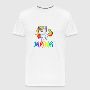 Unicorn Mana - Premium T-skjorte for menn