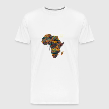 Africa, Continent, Map, - Men's Premium T-Shirt