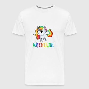 Unicorn Mathilde - Men's Premium T-Shirt