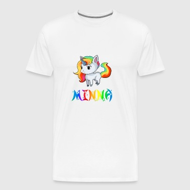 Unicorn Minna - Herre premium T-shirt