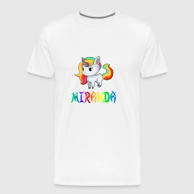 Unicorn Miranda - Premium T-skjorte for menn