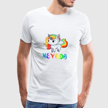 Unicorn Nevada - Herre premium T-shirt