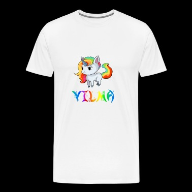 Unicorn Vilma - Men's Premium T-Shirt