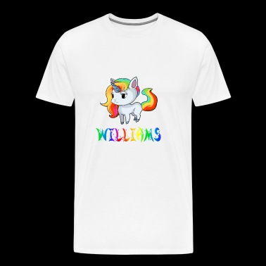 Einhorn Williams - Männer Premium T-Shirt