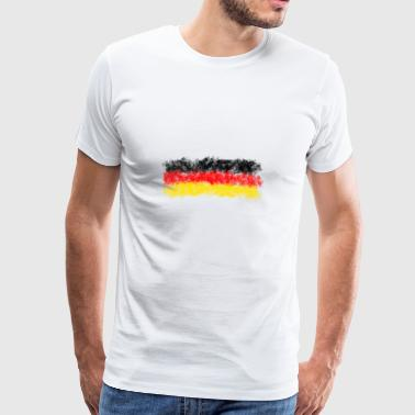 Germany flag - - idea regalo - Maglietta Premium da uomo