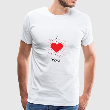 Love affection gift - Men's Premium T-Shirt