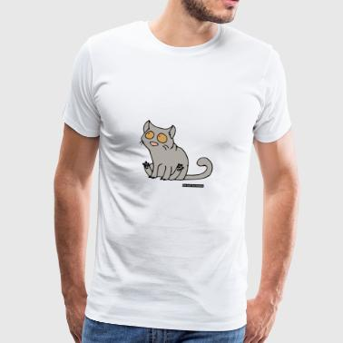 Cat - British Shorthair - Men's Premium T-Shirt