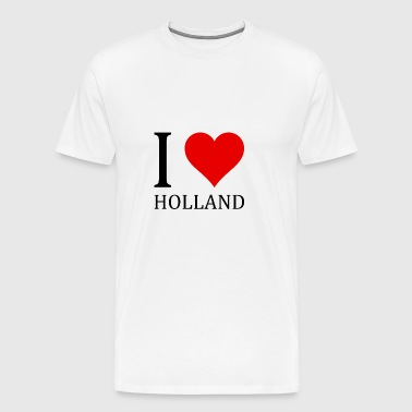I love Holland! - Men's Premium T-Shirt