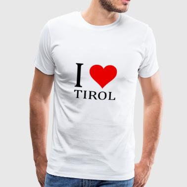 I love Tyrol! - Men's Premium T-Shirt