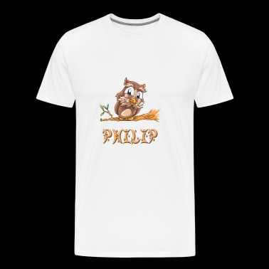 Owl Philip - Men's Premium T-Shirt